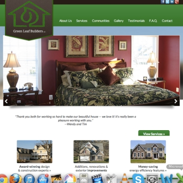 Green Leaf Builders Website Content